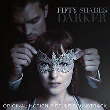 FIFTY SHADES DARKER (ORIGINAL MOVIE SOUNDTRACK CD - SEALED + FREE POST)