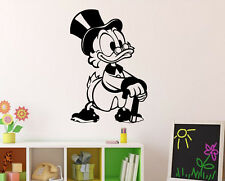 DuckTales Wall Decal Uncle Scrooge Vinyl Sticker Walt Disney Home Decor 4(nse)