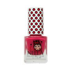 Miss Nella Kids Non Toxic, Peel Off, Odour Free Cherry Macaroon Nail Polish 4ML