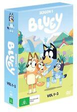 Bluey Season 1 Vol 1-3 - DVD Region 4