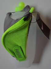 Nike Handheld Flask 20oz Dust / Volt / Silver New
