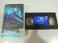 Eduardo Manostijeras Tim Burton Johnny Depp - VHS Cinta Español - 2T