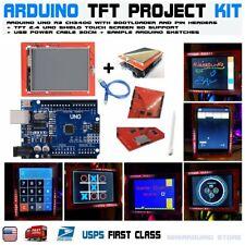 "2.4"" TFT LCD Display Shield Touch Screen + UNO R3 ATmega328p Arduino Compatible"