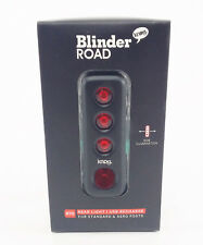 Knog Blinder Road R70 Taillight- Black, USB Rechargeable, LED, Water Resistant