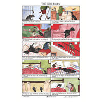 McCaw Allan Tottering By Gently Dog Rules Cotton Tea Towel