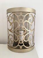 Elstead Gold Ornate FE/ARABESQUE1 Arabesque 1lt Wall Light