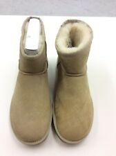UGG Women Classic Mini II Sheepskin Boot 1016222 Sand Size 10