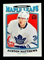 Auston Matthews 2016-17 OPC Update Retro RC #694 Toronto Maple Leafs Rookie