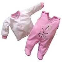 BNWT Baby Girls *Outfit *2 Pieces Set  100% COTTON *Newborn/0-3/3-6/6-9 Months