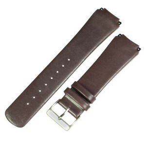 New Genuine leather brown watchstrap wrist band to fit 989XLSLD SKAGEN watches