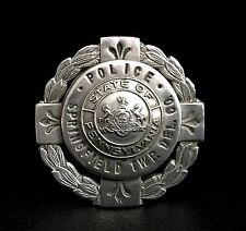 Vintage Obsolete Pennsylvania Police Springfield Township Delaware County Badge