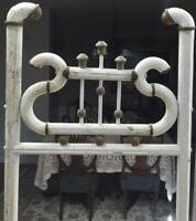 Antique Ball & Stick Floor easel French Painting Stand distressed Shabby chic