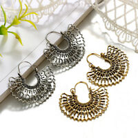 Geometry Wave Shape Earring Drop Dangle Alloy Earrings Women Girls Jewelry