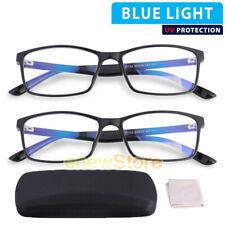 2Pcs Blue Light UV400 Blocking Glasses Gamer LCD/LED Screen & Computer Eyewear