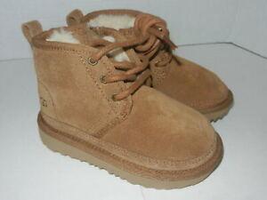 Ugg Neumel Chestnut Boots S/N 1017320T  Toddler Size 8 (EUR 25)