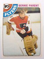 1978-79 Bernie Parent 15 OPC Philadelphia Flyers O-Pee-Chee Hockey Card 0022M