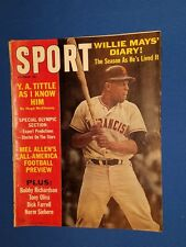 October 1964 Sport Magazine Willie Mays S.F. Giants *FREE SHIPPING*