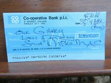 Mike McGear Scaffold Paul McCartney`s Brother Signed April Fool £1M Cheque