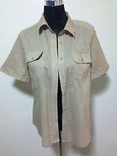 Sussan Ladies Shirt Beige Size 14