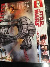 LEGO 75189 Star Wars The Last Jedi First Order AT AT Heavy Assault Walker Wear