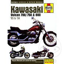 KAWASAKI VN 750 A 1994-1995 Haynes Manual de reparación de servicio 2457