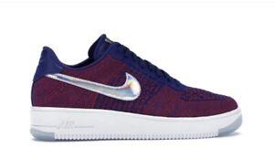 Nike Air Force 1 Ultra Flyknit Low (USA 10,5) 44,5 - Royal Blau