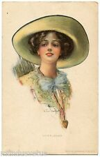 a/s R. FORD HARPER. JOLIE FEMME. MODE FASHION. BEAUTIFUL LADY. CHAPEAU. HAT.