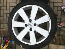 "GENUINE OEM FORD FIESTA FORD FOCUS MK1 17"" RONAL MP3 ALLOY WHEEL & TYRE"