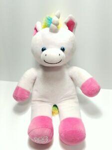 Build A Bear Unicorn Plush Scented White/Pink/Multicolored