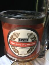 BLVD SPICED PUMPKIN SOY BASED CANDLE 12OZ (340g) NEW IN JAR