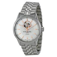 Raymond Weil Freelancer Automatic Open Balance Wheel Mens Watch 2710-ST5-65021