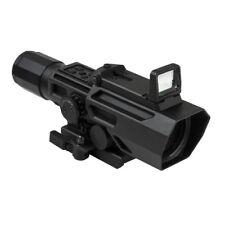 VISM ADO 3-9x42mm P4 Sniper Tactical Scope Red Dot Reflex Optic Blue ILL Gr Lens