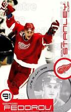 1999-00 Kraft Stanley Cup Moments Factory #13 Sergei Fedorov