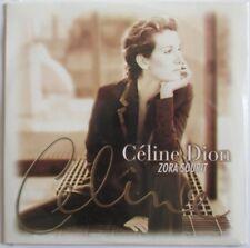 "CÉLINE DION - CARDSLEEVE PROMO SINGLE CD ""ZORA SOURIT"""