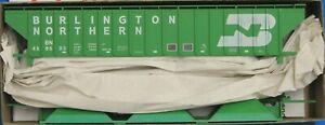 HO Scale - ACCURAIL 6502.1 BURLINGTON NORTHERN PS 3-Bay Hopper Car # 459603  KIT