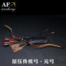 New product AF Bubinga Handmade Traditional Yuan bow 20-50lbs  Recurve bow