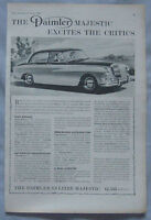 1959 Daimler Majestic Original advert No.1