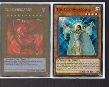 Yugioh Card - Ultra Rare Holo - Lyla Lightsworn Sorceress BLLR-EN036 NEW