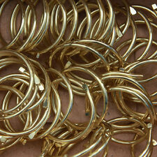 Large Brass Split Ring 27mm - workroom box of 1000