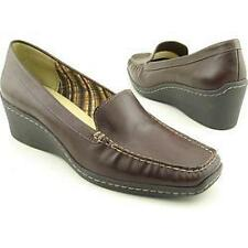 NIB Anne Klein Laise Brown Leather Loafer 9.5M-Org $69