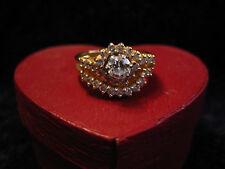 EPIC 14K GOLD WOMEN'S DIAMOND WEDDING SET - 1.10 CT TOTAL WEIGHT - STUNNING!