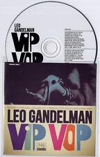 LEO GANDELMAN Vip Vop 2012 UK 10-track promo CD