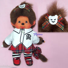 Monchhichi S Size Japan Sekiguchi MCC Plush Doll Korea Fashion Pink Girl