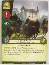 A Game of Thrones 2.0 LCG - 1x #005 Ehrengarde von Rosengarten - Haus der Dornen