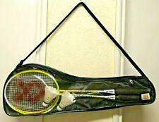 Pair Yonex GR505 Badminton Racquets with 2 birdies Set of 2 - Used