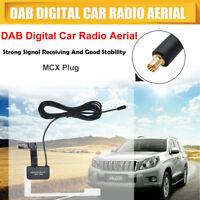 Car Window Glass Mount Aerial SMA Antenna for DAB/DAB+ Digital Radio