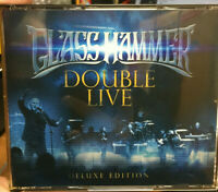 GLASS HAMMER DOUBLE LIVE   DELUXE EDITION CD ALBUM