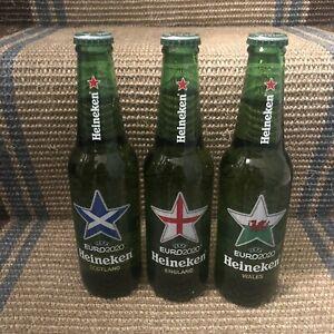 Heineken UEFA EURO 2020 ENGLAND SCOTLAND WALES Flag Empty beer bottles Euro2020