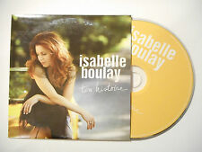 ISABELLE BOULAY : TON HISTOIRE ♦ CD SINGLE PORT GRATUIT ♦