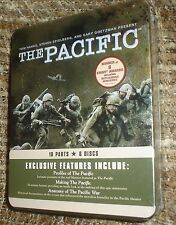 The Pacific (DVD, 2010, 6-Disc Set), NEW & SEALED TIN, REG. 1,10 PART MINISERIES